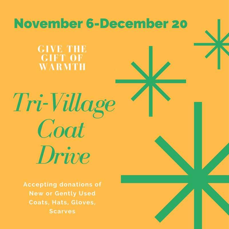 Tri-Village Coat Drive
