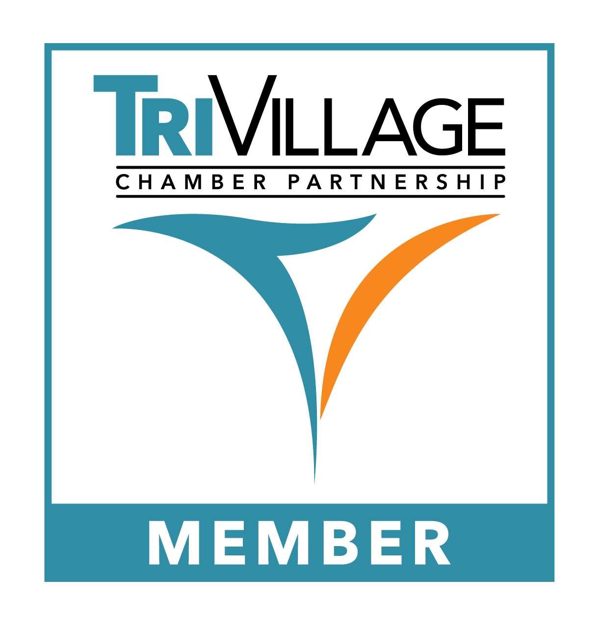Logo Usage Tri Village Chamber Partnership